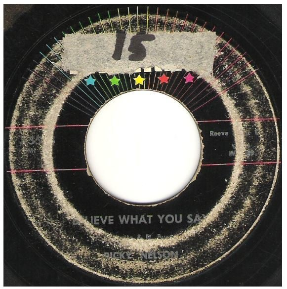 """Nelson, Ricky / Believe What You Say 