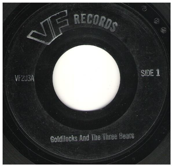 "Uncredited Artists / Goldilocks and the Three Bears | VF Records VF-203 | EP, 7"" Vinyl"