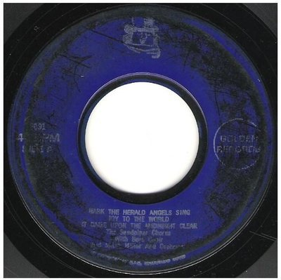 Sandpiper Chorus, The / Hark the Herald Angels Sing + 4   Golden Record 2091   EP, 7