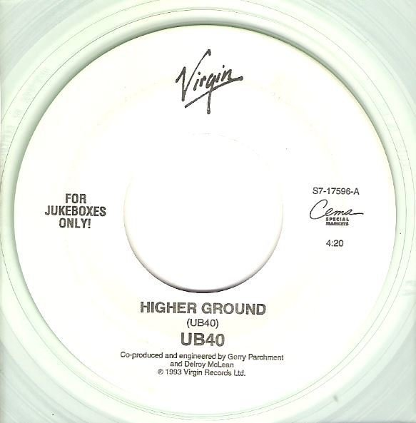 "UB40 / Higher Ground | Virgin S7-17596 | Single, 7"" Vinyl 