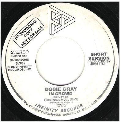 Gray, Dobie / In Crowd | Infinity INF-50,043 | Single, 7