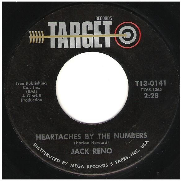 """Reno, Jack / Heartaches By the Number 