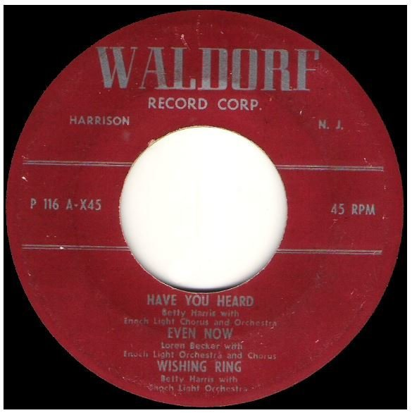"Various Artists / Have You Heard + 5 | Waldorf P-116 | EP, 7"" Vinyl 