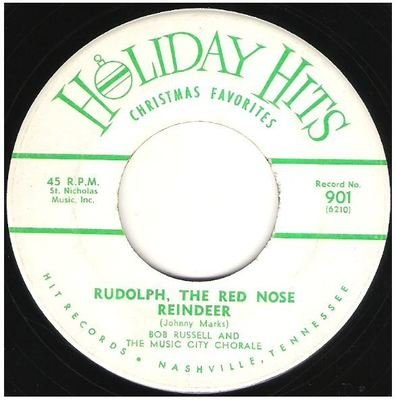 Russell, Bob / Rudolph, the Red Nose Reindeer   Holiday Hits 901   Single, 7