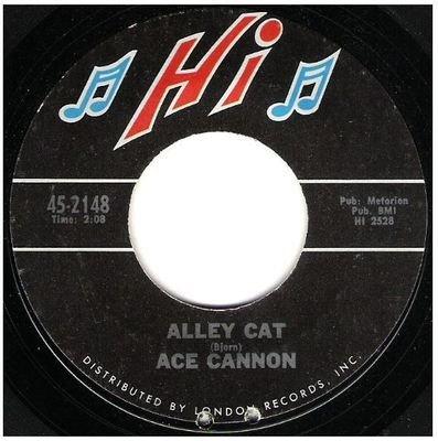 Cannon, Ace / Alley Cat   Hi 45-2148   Single, 7