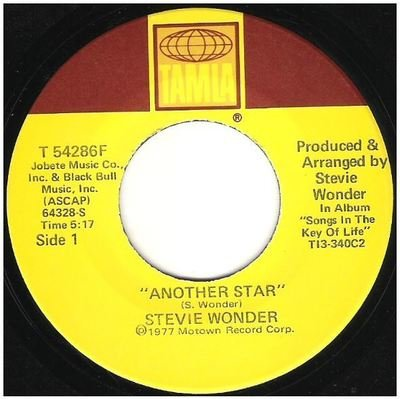 Wonder, Stevie / Another Star   Tamla T-54286F   Single, 7