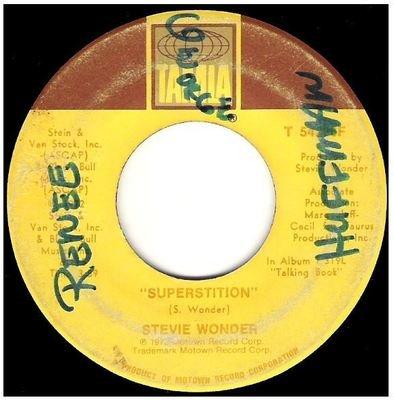 Wonder, Stevie / Superstition   Tamla T-54226F   Single, 7