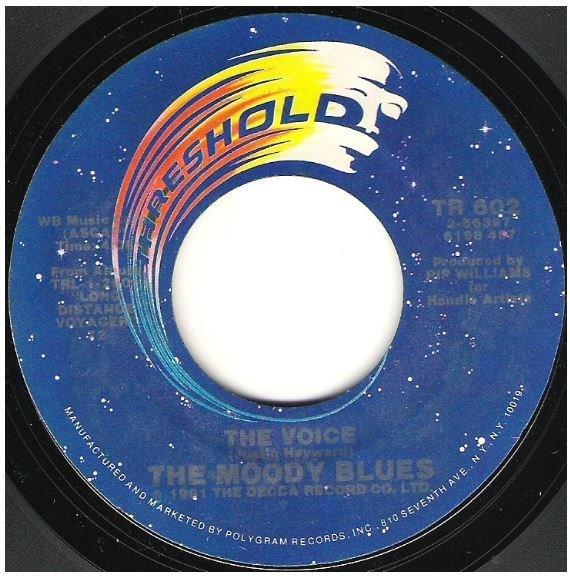 "Moody Blues, The / The Voice | Threshold TR-602 | Single, 7"" Vinyl | July 1981"