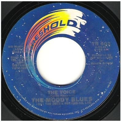 Moody Blues, The / The Voice   Threshold TR-602   Single, 7