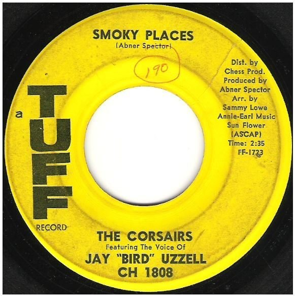 "Corsairs, The / Smoky Places | Tuff CH-1808 | Single, 7"" Vinyl 