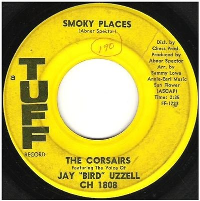 Corsairs, The / Smoky Places   Tuff CH-1808   Single, 7