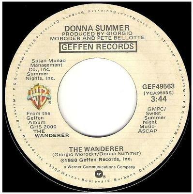Summer, Donna / The Wanderer   Geffen GEF-49563   Single, 7