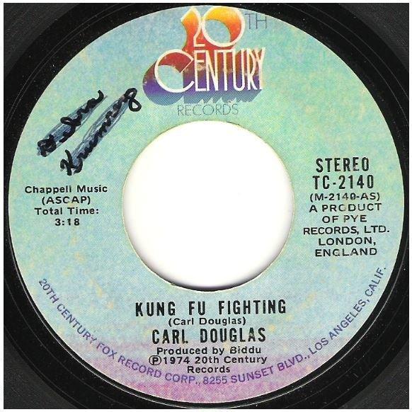 "Douglas, Carl / Kung Fu Fighting | 20th Century TC-2140 | Single, 7"" Vinyl | September 1974"