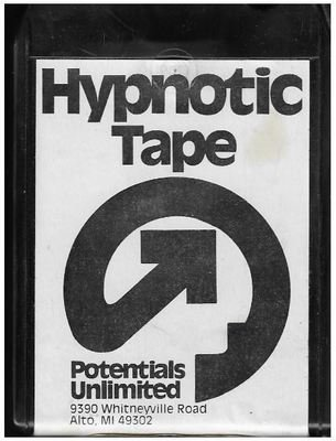 Potentials Unlimited / Hypnotic Tape | High Blood Pressure  | Black Shell | 8-Track Tape | 1978