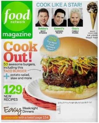Food Network / Cook Out! | Magazine | June 2010