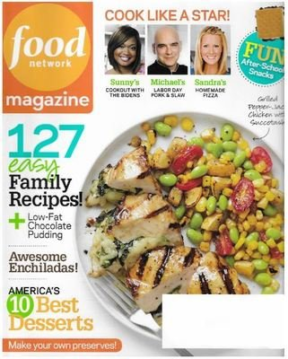 Food Network / 127 Easy Family Recipes | Magazine | September 2010