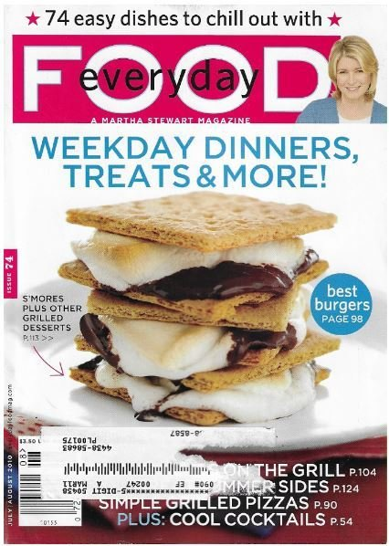 Everyday Food / Weekday Dinners, Treats + More | Magazine | July-August 2010