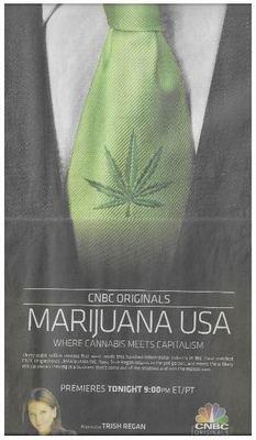 Regan, Trish / CNBC Originals - Marijuana USA | Newspaper Ad | December 2010