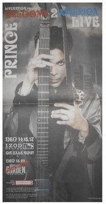 Prince / Welcome to America Live - Izod Center | Newspaper Ad | November 2010