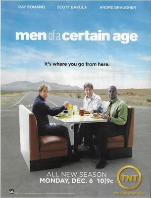Romano, Ray / Men of a Certain Age - It's Where You Go From Here | Magazine Ad | November 2010