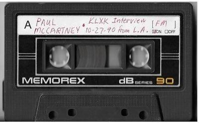 McCartney, Paul / Los Angeles, CA (KLXK) | Interview Cassette | October 1990