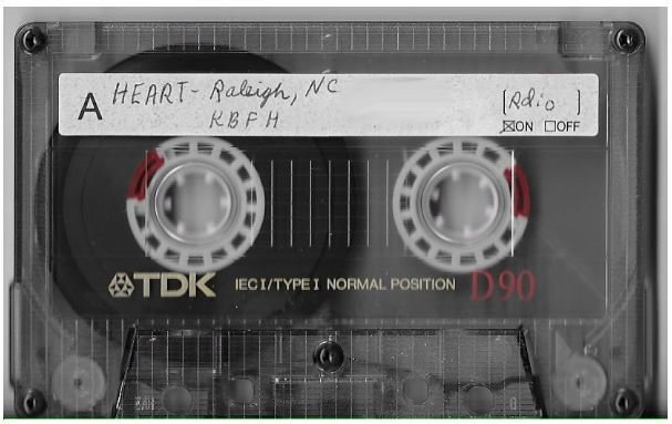 Heart / Raleigh, NC (Dorton Arena) | Live Cassette | August 1985