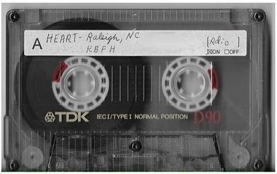 Heart / Raleigh, NC (Dorton Arena) | Live Cassette | August 1985