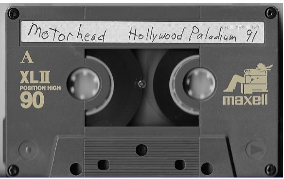 Motorhead / Los Angeles, CA (Hollywood Palladium) | Live Cassette | November 1990
