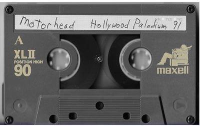 Motorhead / Los Angeles, CA (Hollywood Palladium) | Live Cassette | November 1990
