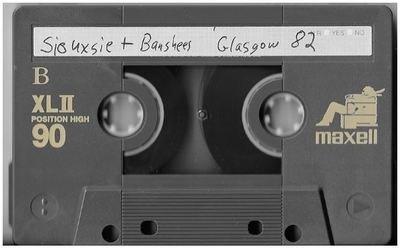 Siouxsie + The Banshees / Glasgow, Scotland (Apollo) | Live Cassette | November 1982