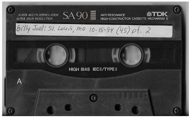 Joel, Billy / St. Louis, MO (Kiel Center) | Live Cassette | October 1994 | Part 2