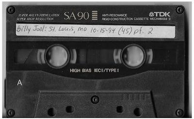 Joel, Billy / St. Louis, MO (Kiel Center) | Live Cassette | October 1994 | Part 2