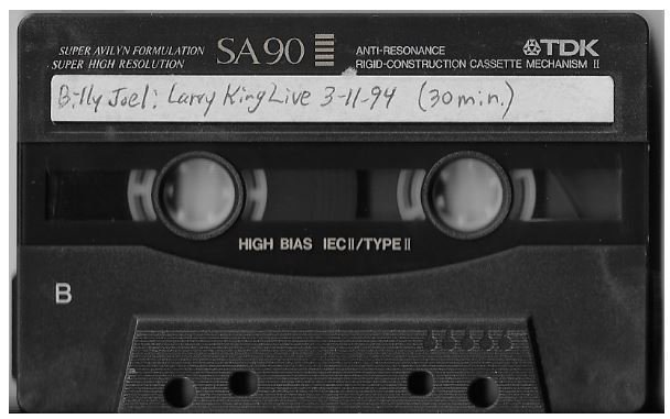 Joel, Billy / Minneapolis, MN (Larry King Live) | Live Cassette | March 1994 | Interview
