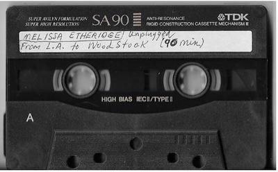 Etheridge, Melissa / Unplugged From L.A. to Woodstock | Live Cassette