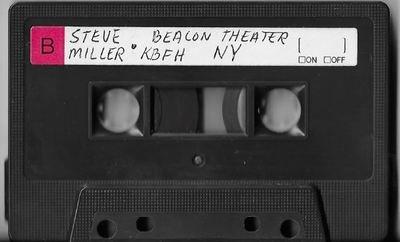 Miller, Steve (Band) / New York, NY (Beacon Theater) | Live Cassette | May 1976