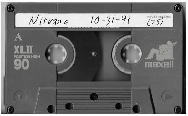 Nirvana / Seattle, WA (Paramount Theatre) | Live Cassette | October 1991