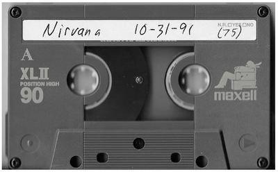 Nirvana / Seattle, WA (Paramount Theatre) | Live Cassette | October 1991