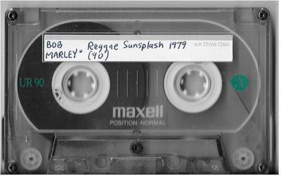 Marley, Bob (+ The Wailers) / Montego Bay, Jamaica (Jarrett Park) | Live Cassette | July 1979