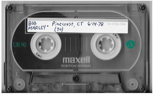 Marley, Bob (+ The Wailers) / Shelton, CT (Pinecrest Country Club) | Live Cassette | June 1978
