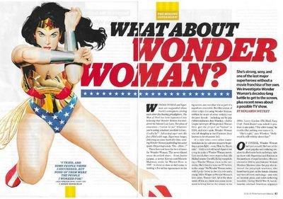 Wonder Woman / What About Wonder Woman? | Magazine Article | November 2010 | Lynda Carter