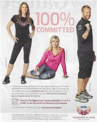 Sweeney, Alison / The Biggest Loser - 100% Committed | Magazine Ad | November 2010