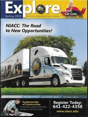 Explore (NIACC) / The Road to New Opportunities | Catalog | Spring 2019