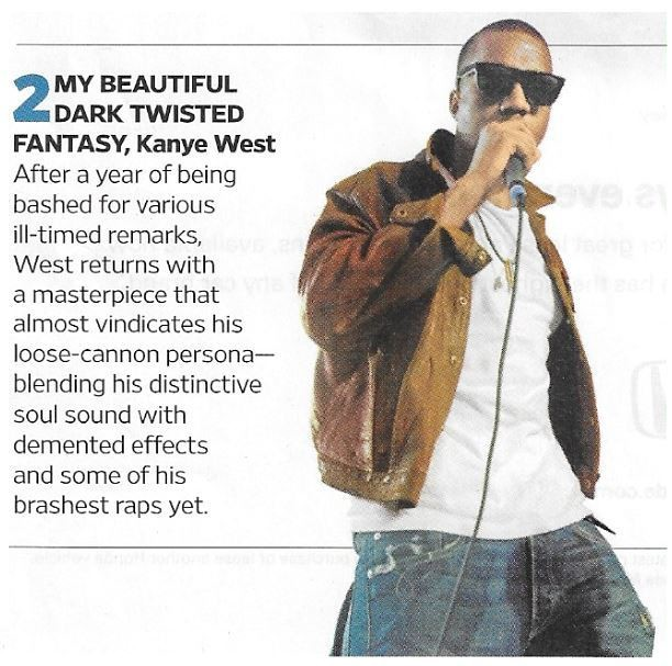 West, Kanye / My Beautiful Dark Twisted Fantasy | Magazine Article | November 2010