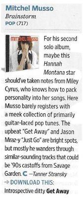 Musso, Mitchel / Brainstorm   Magazine Review   November 2010