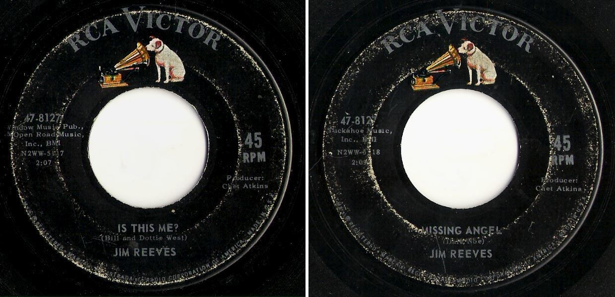 Reeves, Jim / Is This Me? (1963) / RCA Victor 47-8127 (Single, 7