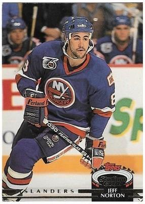 Norton, Jeff / New York Islanders   Stadium Club #324   Hockey Trading Card   1992-93