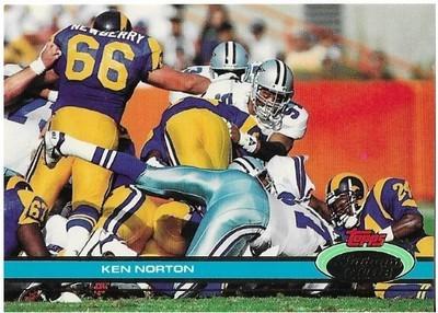 Norton, Ken / Dallas Cowboys   Stadium Club #207   Football Trading Card   1991