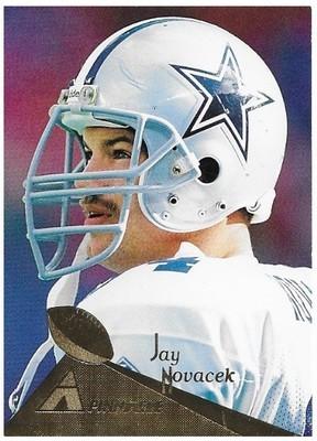 Novacek, Jay / Dallas Cowboys   Pinnacle #82   Football Trading Card   1994