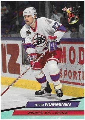 Numminen, Teppo / Winnipeg Jets   Ultra #243   Hockey Trading Card   1992-93