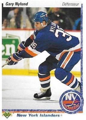 Nylund, Gary / New York Islanders   Upper Deck #139   Hockey Trading Card   1990-91   Canada
